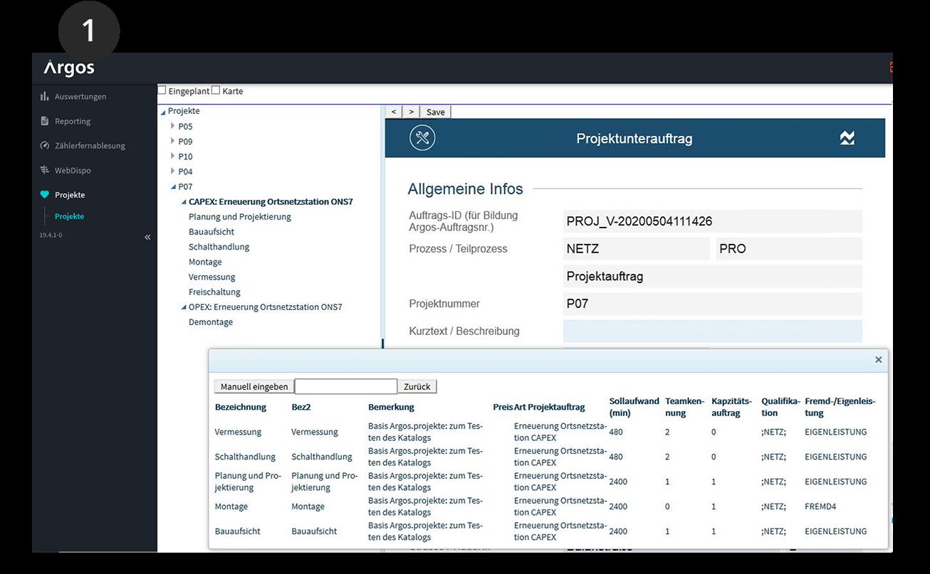 Screenshot Argos