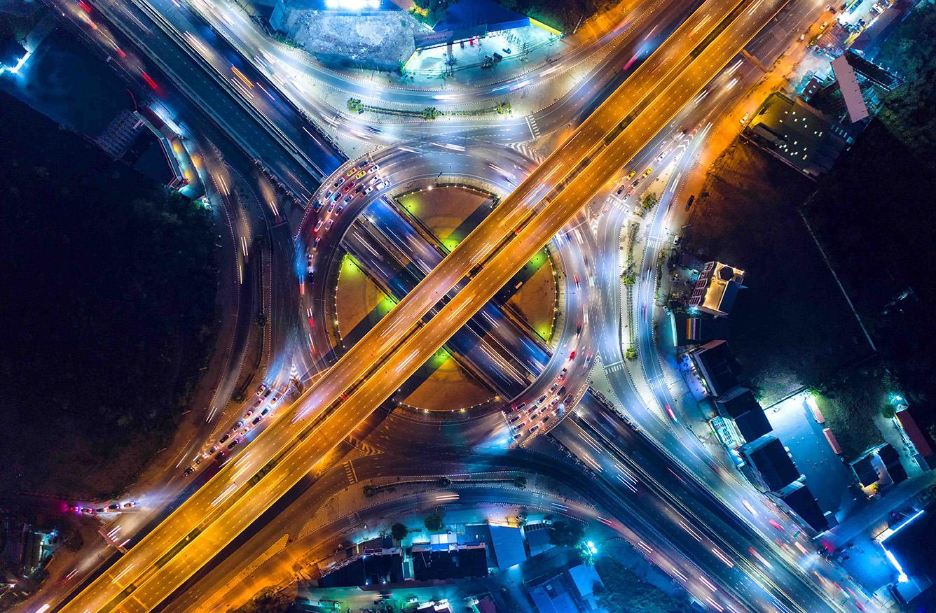 Foto Datenautobahn