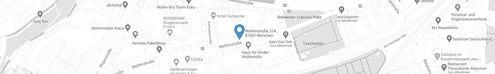 google maps Welfenstraße