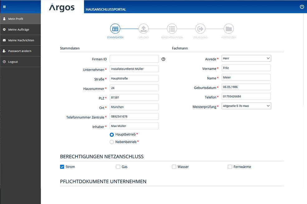 Screen Portal Installateur